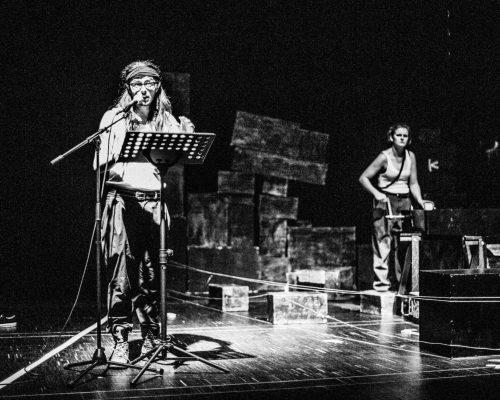 error409 tON/NOt Triebwerk7 BRUX Freies Theater Innsbruck Christa Pertl